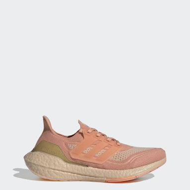 Scarpe Ultraboost 21 Rosa Donna Running