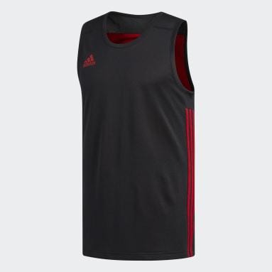 Men Basketball Black 3G Speed Reversible Jersey