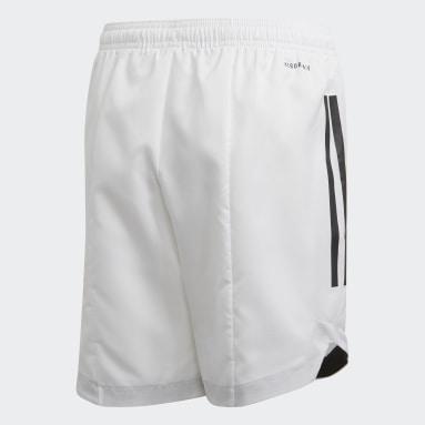 Short Condivo 20 Blanc Garçons Fitness Et Training