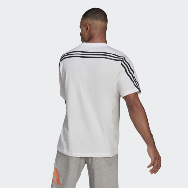 Men Sportswear White adidas Sportswear 3-Stripes Tee