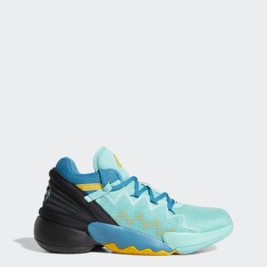 Basketball Donovan Mitchell D.O.N. Issue #2 Avatar Basketballschuh Grün
