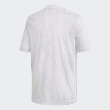 Youth Soccer White Tiro 19 Jersey
