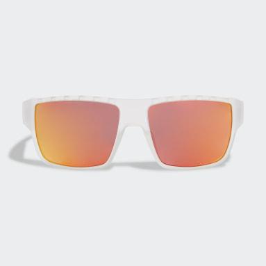 Padel Tennis White Sport Sunglasses SP0006