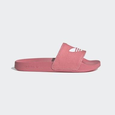 ผู้หญิง Originals สีชมพู รองเท้าแตะ Adilette Lite