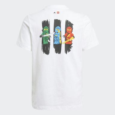 Genç Training Beyaz adidas x LEGO® NINJAGO® Graphic Tişört