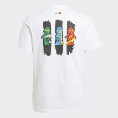 Polera Estampada adidas x LEGO® NINJAGO® Blanco Niño Training