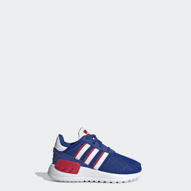 Kids Originals Blue LA Trainer Lite Shoes