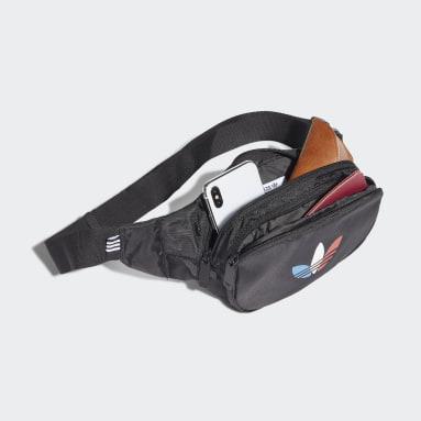 Originals Black Adicolor Tricolor Classic Waist Bag