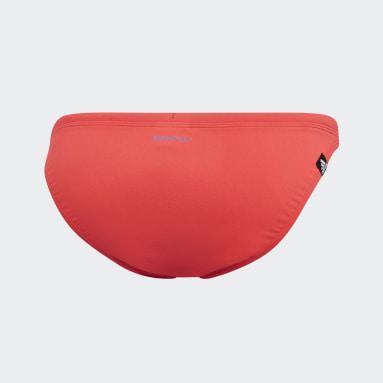 Ženy Plavání červená Spodní díl bikin Pro Solid