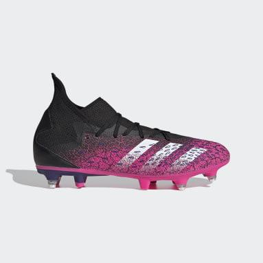 Fotbal černá Kopačky Predator Freak.3 Soft Ground