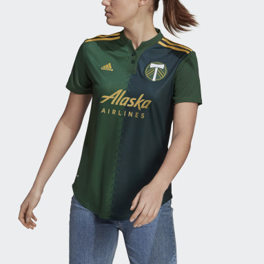 Women's Soccer Green Portland Timbers 21/22 Home Jersey