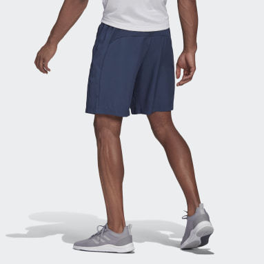AEROREADY Designed 2 Move Woven Sport Shorts Niebieski