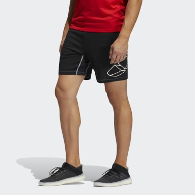 Men Training Black FB Hype Shorts