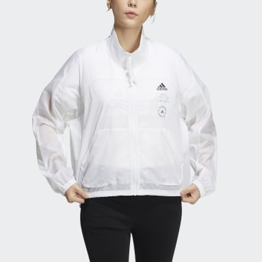 Women Sportswear White Track Top