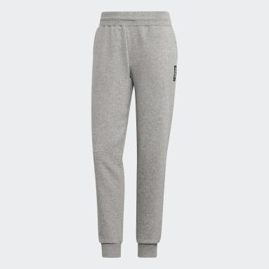 Women's Essentials Grey Brilliant Basics Track Pants
