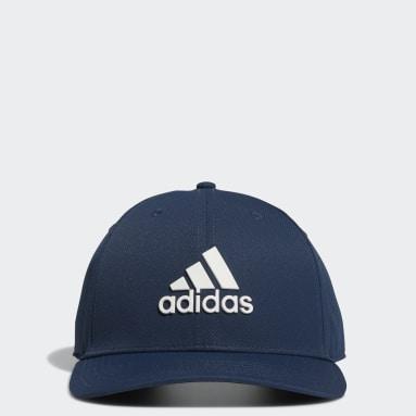 Men Golf Blue Tour Snapback Hat