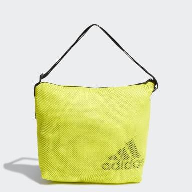 Kvinder Handball Gul Mesh Carryall Tote taske