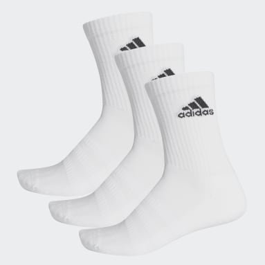 Cricket White Cushioned Crew Socks 3 Pairs