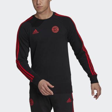 Muži Fotbal černá Mikina FC Bayern