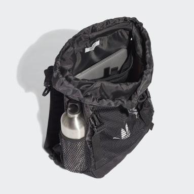 Børn Originals Sort Adventure Toploader rygsæk, small
