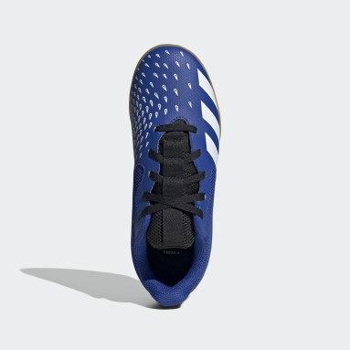 Boys Football Blue Predator Freak.4 Sala Indoor Boots