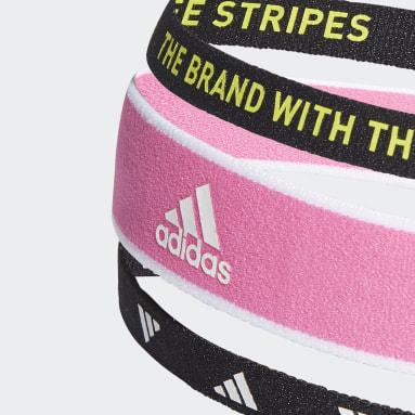 Feldhockey Training Haarbänder, 3er-Pack Rosa
