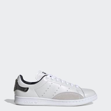 Men Originals White Stan Smith Shoes