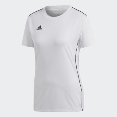 Camiseta de Entrenamiento Core 18 Blanco Mujer Fútbol