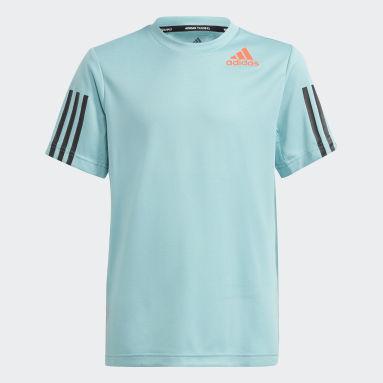 Kluci Cvičení A Trénink zelená Tričko HEAT.RDY Sport