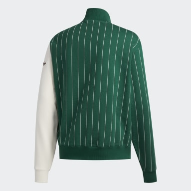 Men Originals Green FA Blocked Sweatshirt