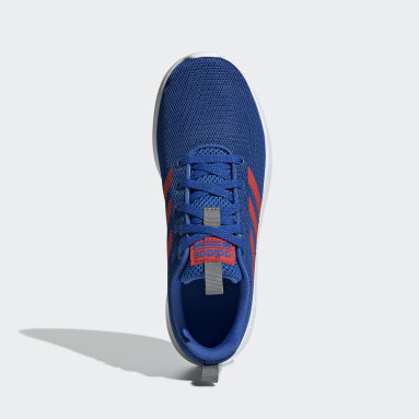 Kids Sport Inspired Blue Lite Racer CLN Shoes