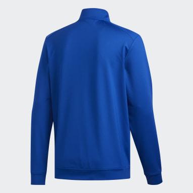 Sudadera Classic Club Cierre Corto Azul Hombre Golf