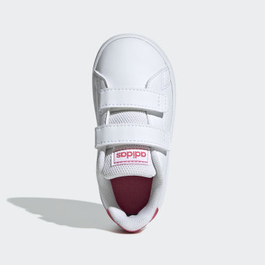 Girls Lifestyle White Advantage Shoes