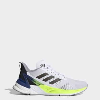 Men Running White Response Super Shoes