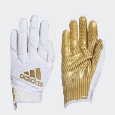 Football White Freak 5.0 Gloves