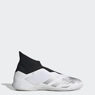 Zapatos de fútbol Predator Mutator 20.3 Sin Cordones Cancha Cubierta Blanco Hombre Fútbol