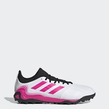 Men's Soccer White Copa Sense.3 Turf Shoes