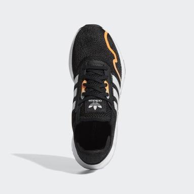 Youth Originals Black Swift Run X Shoes