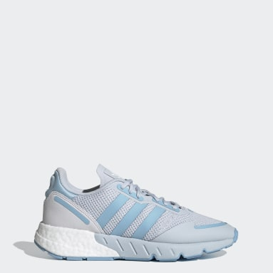Women Originals Blue ZX 1K Boost Shoes