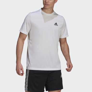 Men Training White AEROREADY Designed To Move Sport Tee