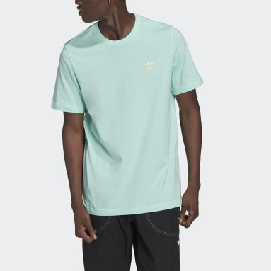 Mænd Originals Türkis LOUNGEWEAR Adicolor Essentials Trefoil T-shirt