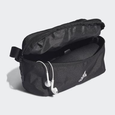 ไลฟ์สไตล์ สีดำ กระเป๋าคาดเอวคลาสสิก