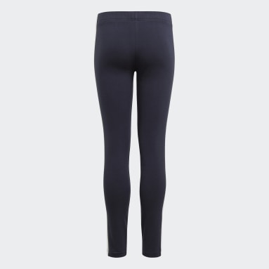 Leggings adidas Essentials 3-Stripes Blu Ragazza Sportswear