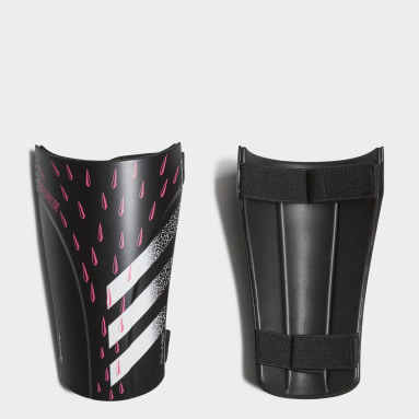 Football Black Predator Training Shin Guards