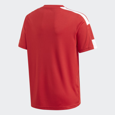 Boys Football Red Squadra 21 Jersey