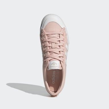 Chaussure Nizza Platform Rose Femmes Originals