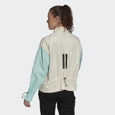 Anorak Back to Sport WIND.RDY Blanco Mujer Outdoor Urbano
