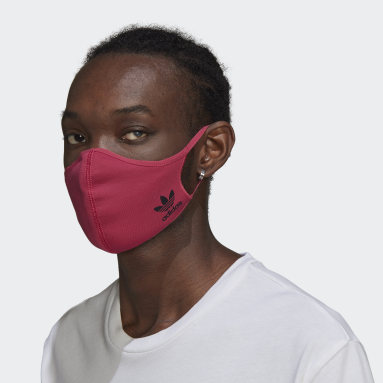 Originals Pink Face Cover 3-Pack M/L - Not For Medical Use
