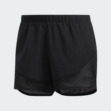 Shorts Marathon 20 Light Speed Negro Mujer Running