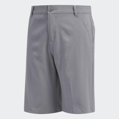 Jongens Golf Grijs Solid Golf Short